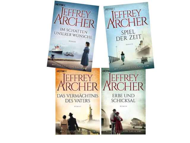 [Roman] Jeffrey Archer - Die Clifton-Saga Band 1 - 4