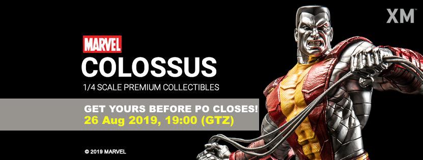 Premium Collectibles : Colossus Colossusfinalpobanneraxjdd