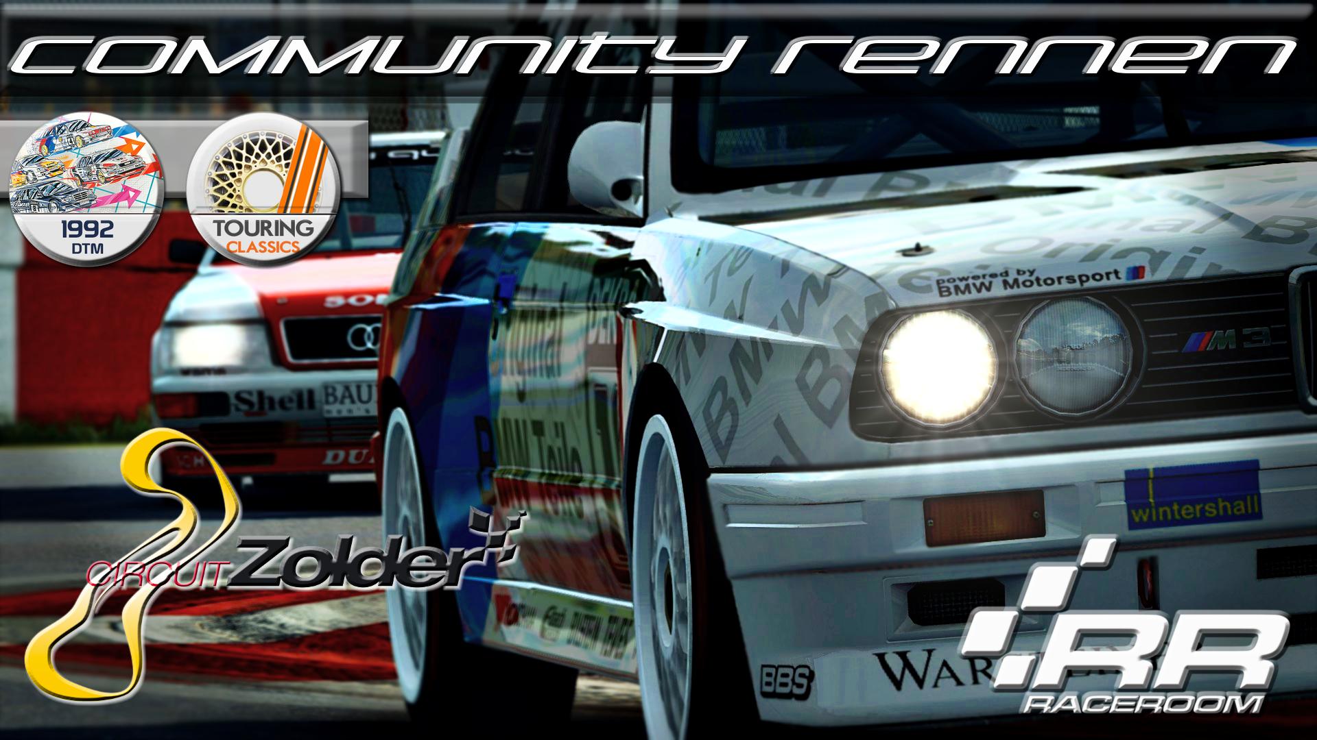 R3E CR72   DTM 92 & Touring Classics @ Zolder Grand Prix