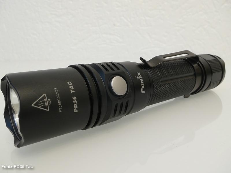 Fenix Pd35 Tac 1000 Lumen Taschenlampen Forum