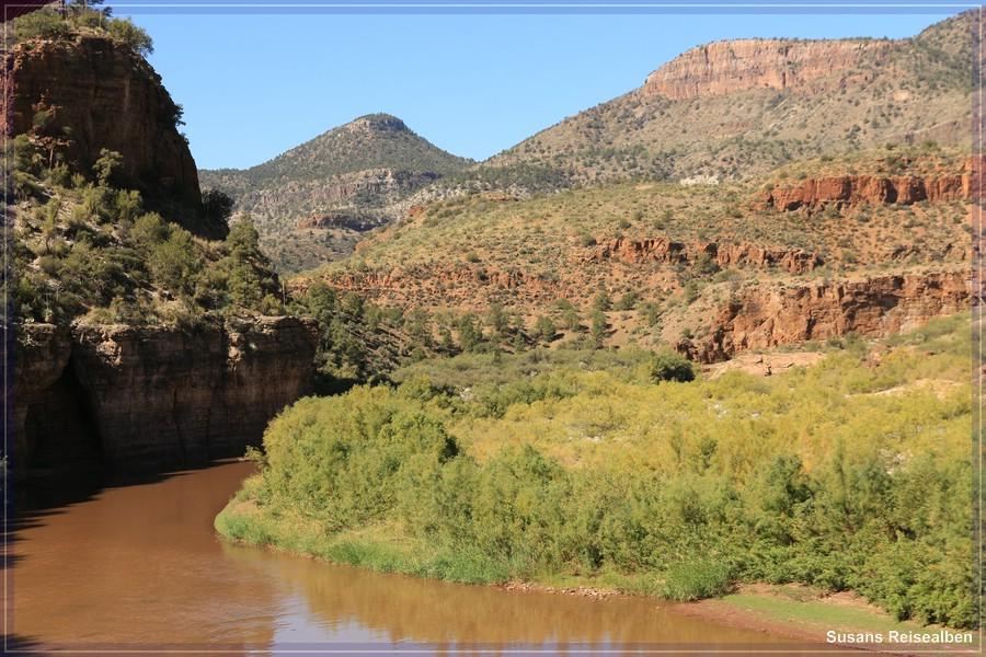 Salt River Canyon am Ufer 2