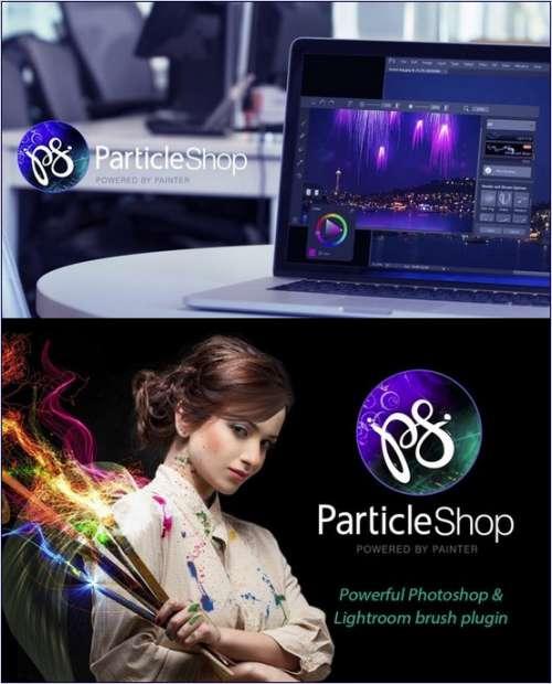 Corel ParticleShop 1.3.0.570 Plugin for Photoshop & Lightroom Pack