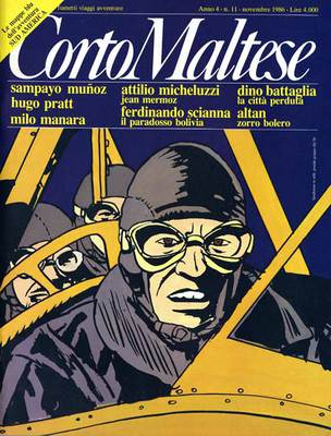 Corto Maltese 038 - Anno 04 Numero 11 (11/1986)