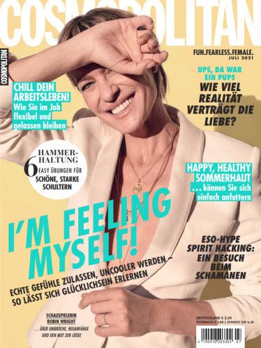 Cover: Cosmopolitan Frauenmagazin No 07 2021