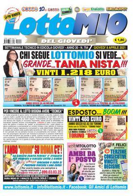 Lottomio del Giovedì N.754 - 8 Aprile 2021