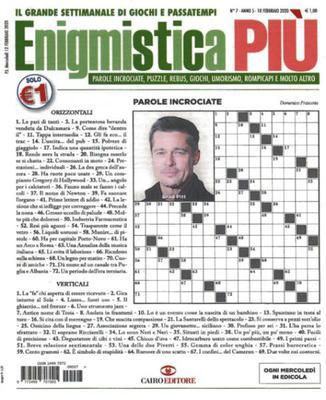 Enigmistica PIU N.7 - 18 Febbraio 2020