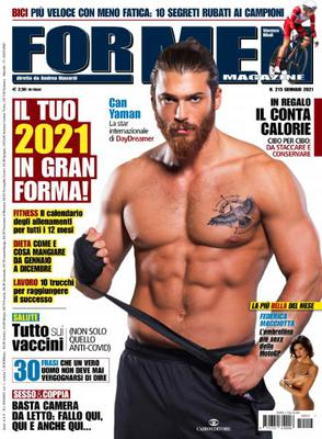 For Men Magazine - Gennaio 2021