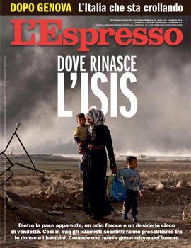 L'Espresso N.34 - 19 Agosto 2018