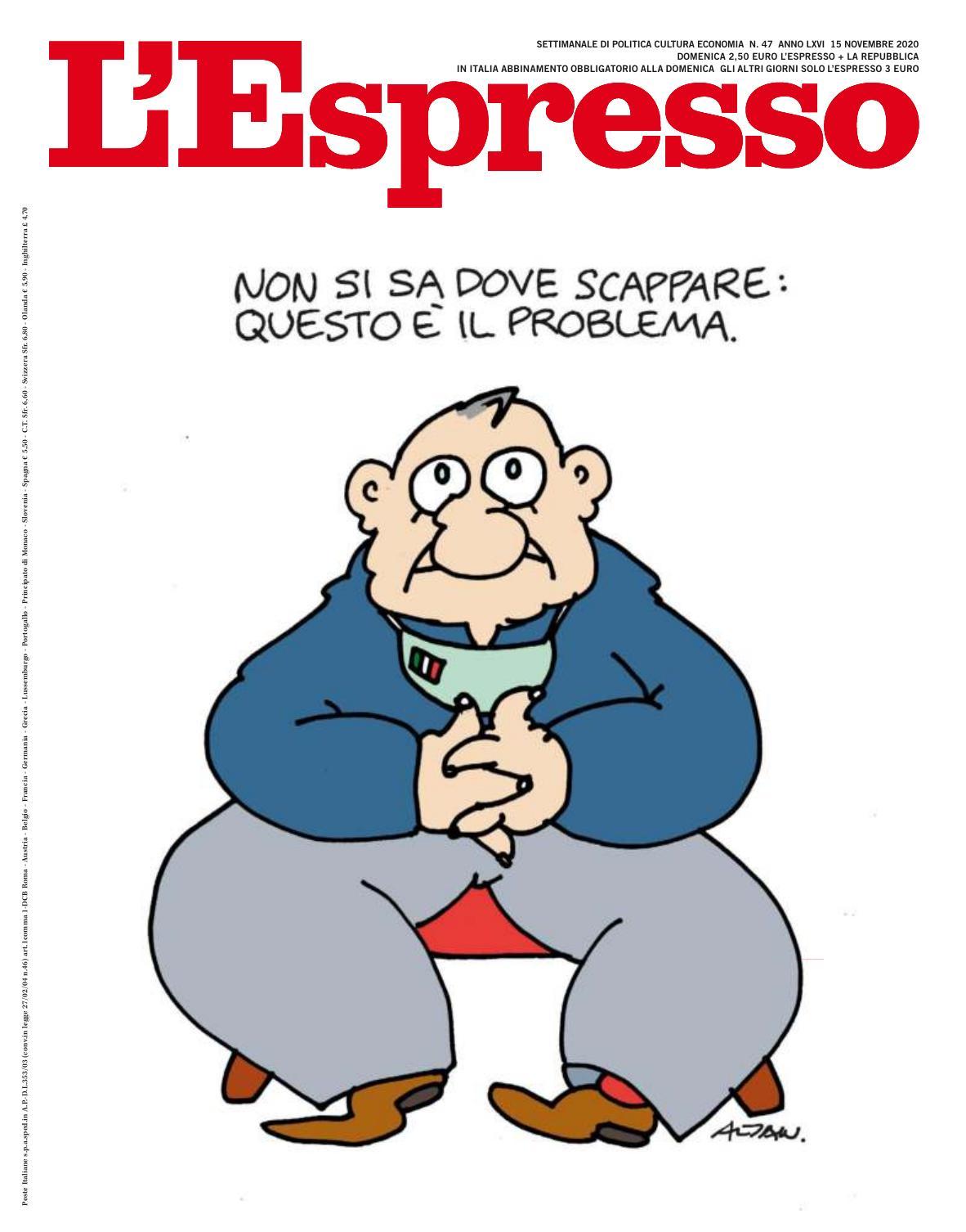 L'Espresso N.47 – 15 Novembre 2020
