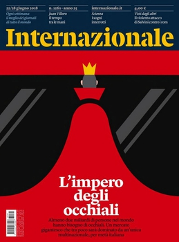 Internazionale N.1261 - 22/28 Giugno 2018