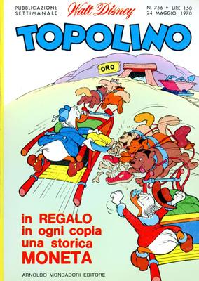 Topolino Libretto � N� 756 (1970)
