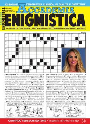Accademia Enigmistica N.19 - Ottobre-Novembre 2020
