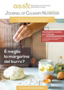 Journal of Culinary Nutrition - Dicembre 2017