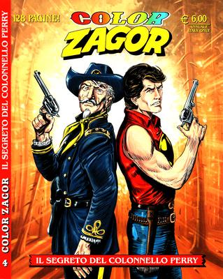 Zagor Color Annuale 04 – Il segreto del Colonnello Perry (2016)