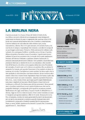 Altroconsumo Finanza - 14 Gennaio 2020