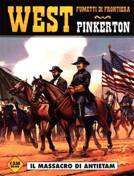 Cosmo Serie Gialla N° 45 - West N° 28 - Pinkerton - Il Massacro Di Antietam (2016)