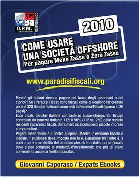 Giovanni Caporaso - Come usare una società offshore (2010)