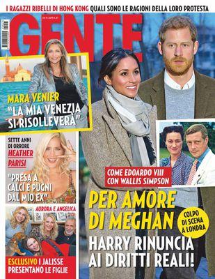 Gente Italia N.47 - 28 Novembre 2019