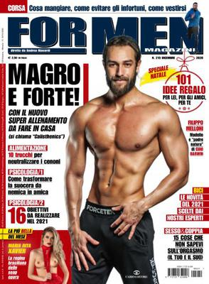 For Men Magazine - Dicembre 2020