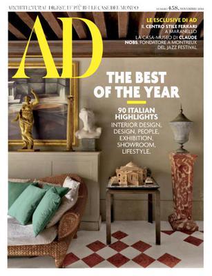 AD Architectural Digest Italia N.458 - Novembre 2019