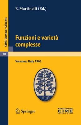 E. Martinelli - Funzioni e varietà complesse (2011)