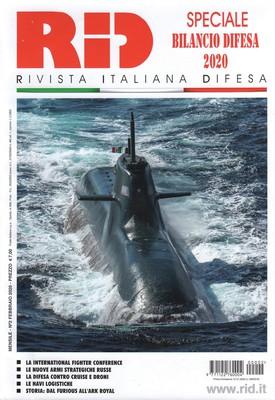 Rivista Italiana Difesa - Febbraio 2020