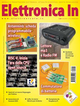 Elettronica In N.225 - Maggio 2018