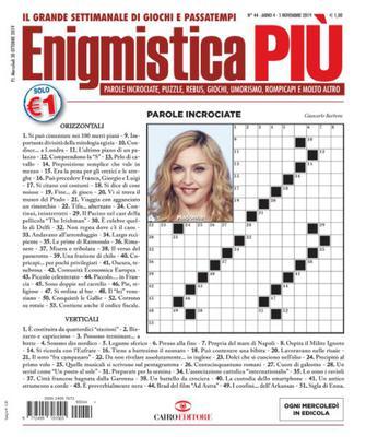 Enigmistica PIU N.44 - 5 Novembre 2019