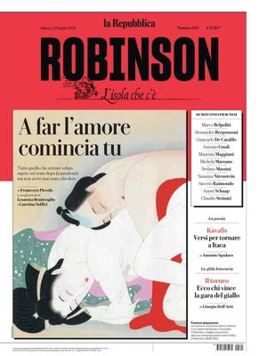 La Repubblica Robinson N.242 – 24 Luglio 2021