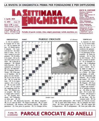 La Settimana Enigmistica N.4593 - 2 Aprile 2020
