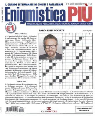 Enigmistica PIU N.49 - 10 Dicembre 2019