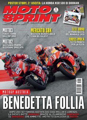 Moto Sprint N.33 - 13 Agosto 2019
