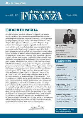 Altroconsumo Finanza N.1326 - 9 Luglio 2019