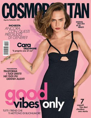 Cosmopolitan Italia – Agosto-Settembre 2021
