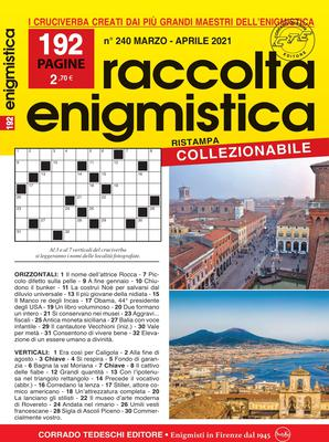 Raccolta Enigmistica - Marzo/Aprile 2021