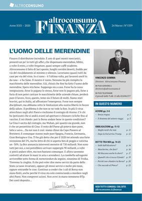 Altroconsumo Finanza N.1359 - 24 Marzo 2020