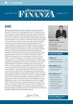 Altroconsumo Finanza N.1271 - 22 Maggio 2018