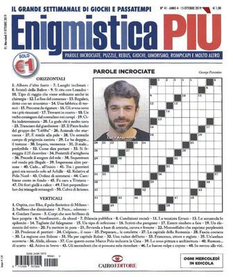 Enigmistica PIU N.41 - 15 Ottobre 2019