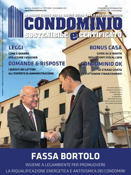 Condominio sostenibile e certificato N.21 - OttobreNovembre 2017