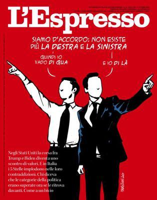 L'Espresso N.42 - 11 Ottobre 2020