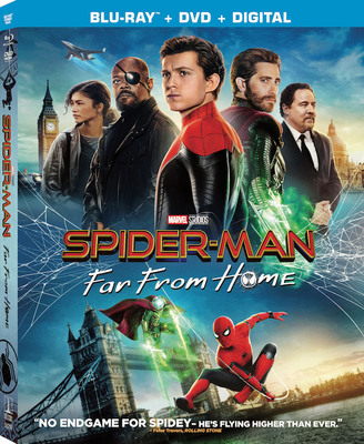 Spider-Man - Far From Home 2019 .avi AC3 BDRIP - ITA - leggenditaly