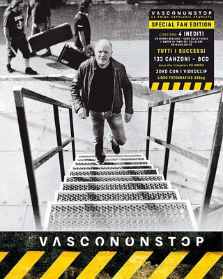 Vasco Rossi - VascoNonStop [Special Fan Edition 8CD](2016).Wav 16Bit 44100Hz