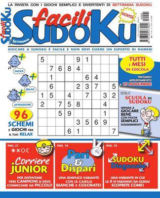 Facili Sudoku N.5 - Ottobre 2020