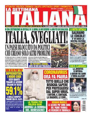 La settimana Italiana N.1 - 13 Febbraio 2020