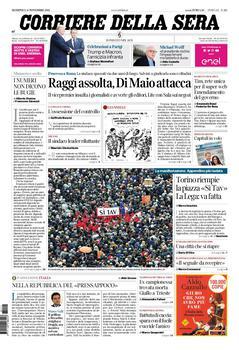 Corriere della Sera - 11 novembre 2018