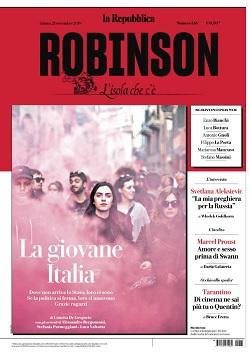 la Repubblica Robinson N.146 - 21 Settembre 2019