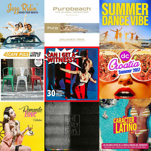 Compilation Pop & Lounge Music (2017)