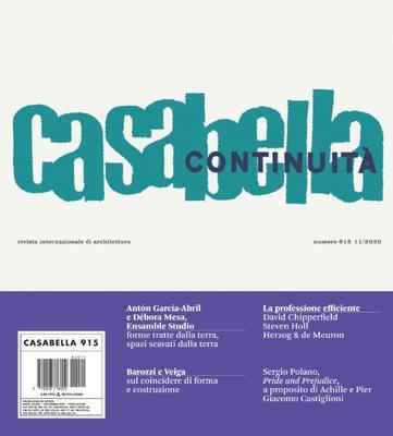 Casabella - Novembre 2020
