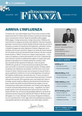 Altroconsumo Finanza N.1344 - 10 Dicembre 2019