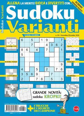 Sudoku Varianti N.50 - Novembre-Dicembre 2020